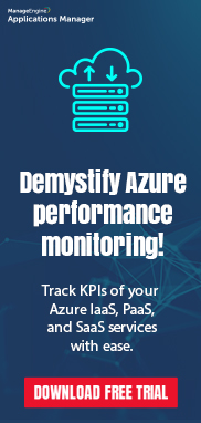 Application Performance Monitoring - ManageEngine Applications Manager