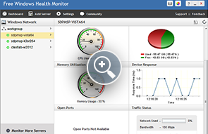 Free Windows Health Monitor - ManageEngine Free Tools