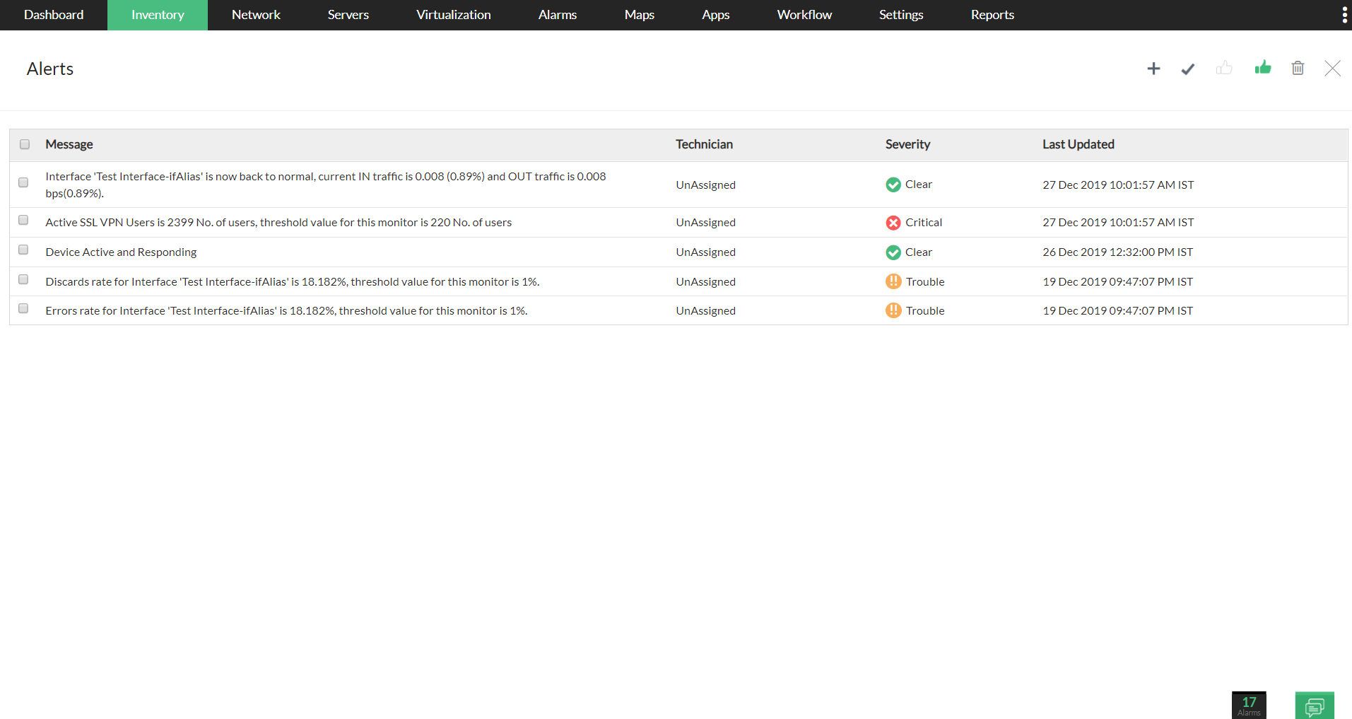 VPN Monitoring Software - ManageEngine <span class=