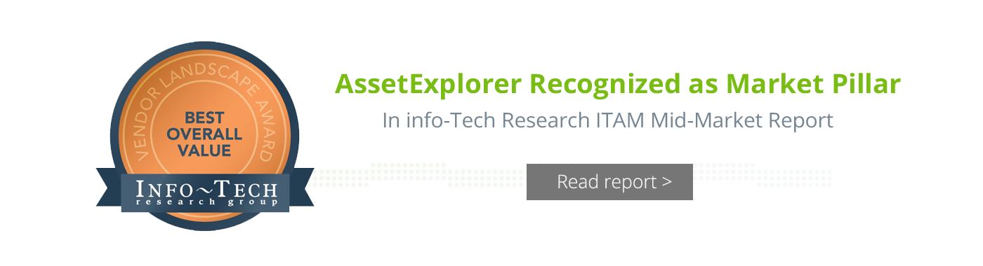 Info-Tech Research ITAM Mid-Market Report