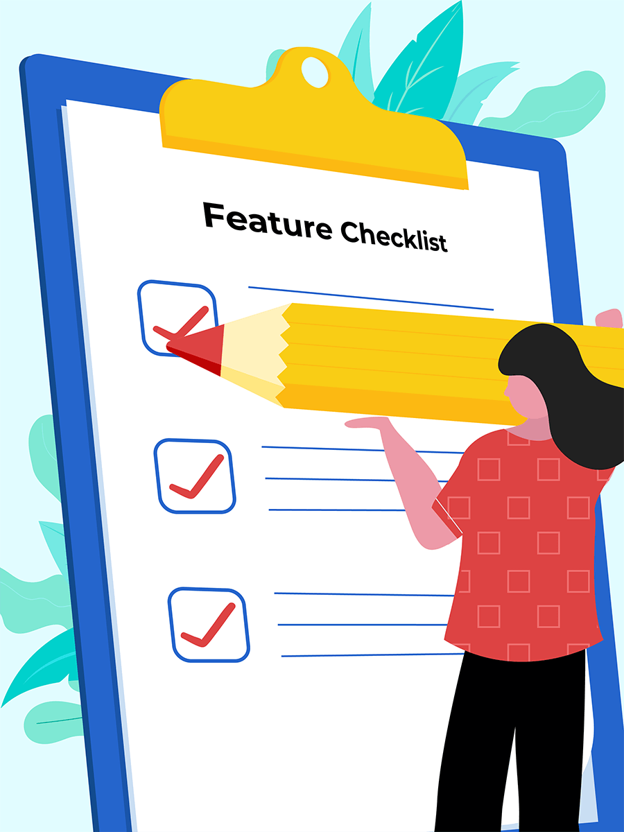 Problem management sofware feature checklist