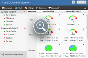 Free SQL Health Monitor - ManageEngine Free Tools